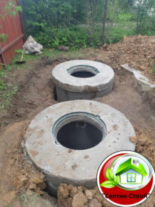 Септик из бетонных колец «под ключ» в Годуново