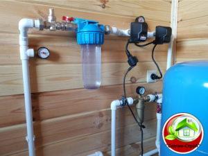 Водоснабжение частного дома в Белозёрово